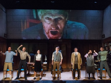 1984, Nottingham Playhouse, review, 2013
