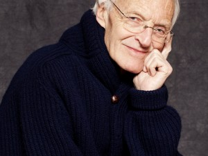Michael Frayn. Portrait by Jillian Edelstein.