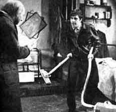 Donald Pleasence, Alan Bates in Pinter's The Caretaker